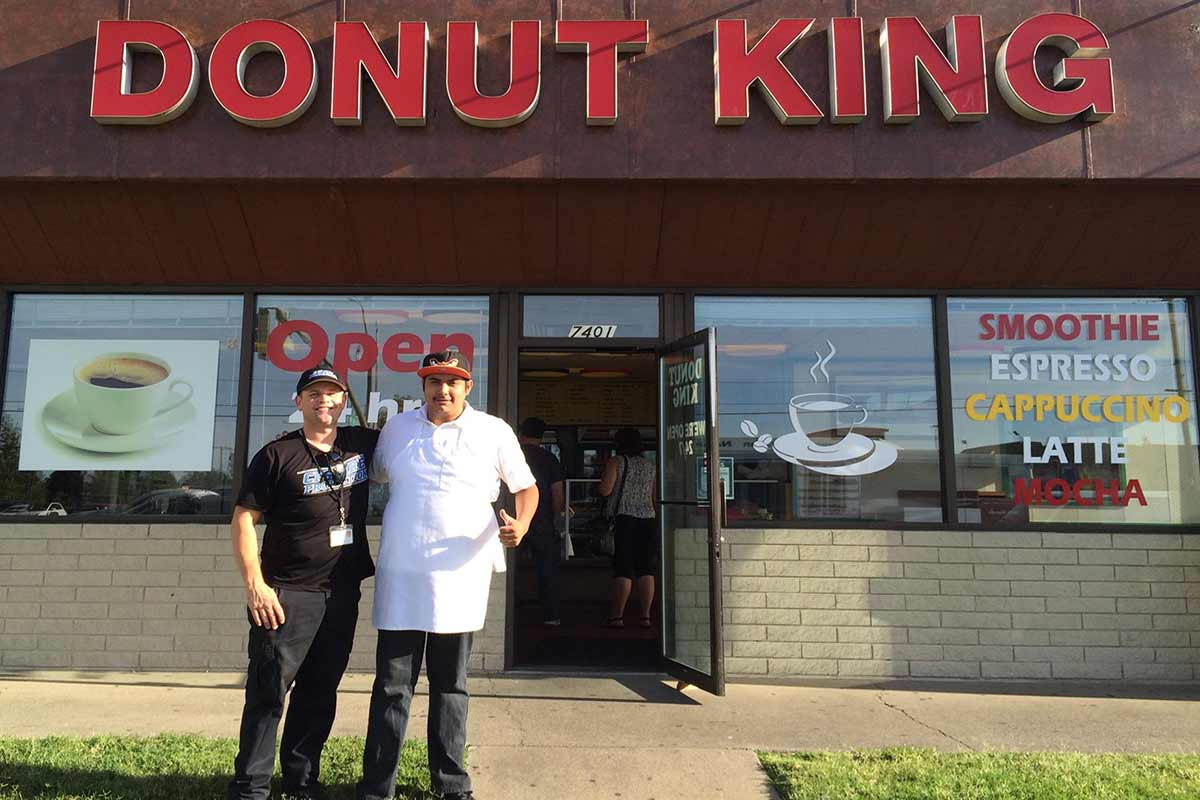 Fire Extinguisher, Kitchen & Sprinkler Inspection Customer Review By Review by Kim Honn Chhon, Owner of the Donut King, Citrus Heights, Ca 95610